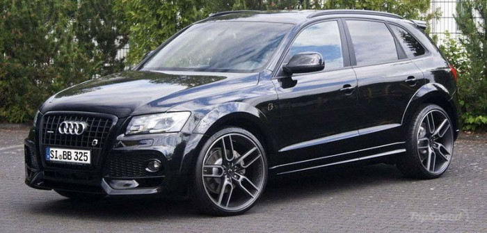Тюнингованный Audi SQ5 TDI