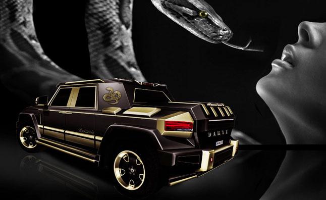 Тюнинг Mercedes от агентства Dartz Prombron