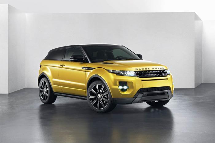 Ограниченный выпуск Land Rover Evoque