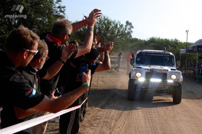 Команда Race2Recovery финишировала на Rally Dakar