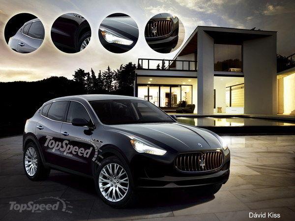 Роскошный SUV - Maserati Levante