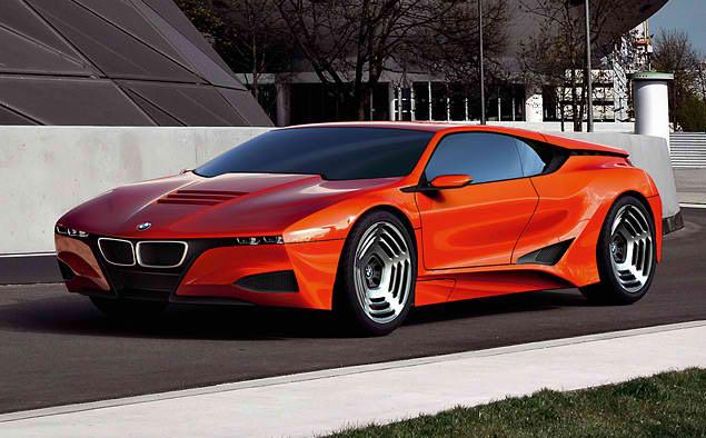 Стильные диски на BMW M1 Hommage