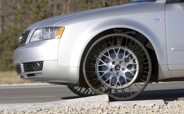 Передовые колесные диски Michelin из полимеров