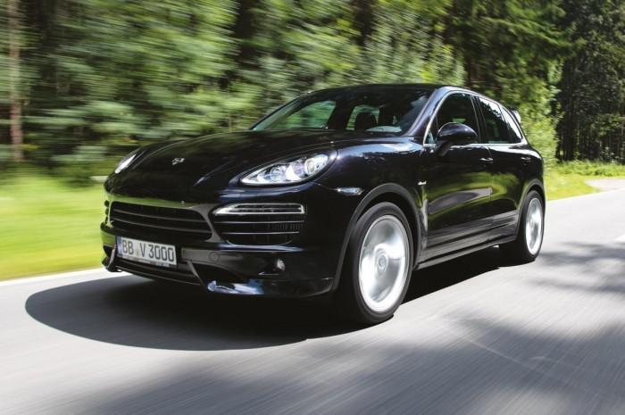"""""""Тюнингованный"""" Porsche Cayenne S Diesel"""