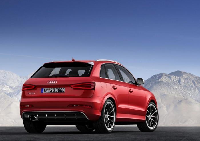 Новый Audi Q3 RS