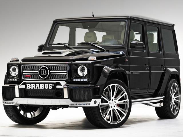 Brabus увеличил мощность G-Wagon до 800 л.с