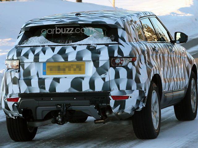 Шпионские фото Land Rover Freelander 3
