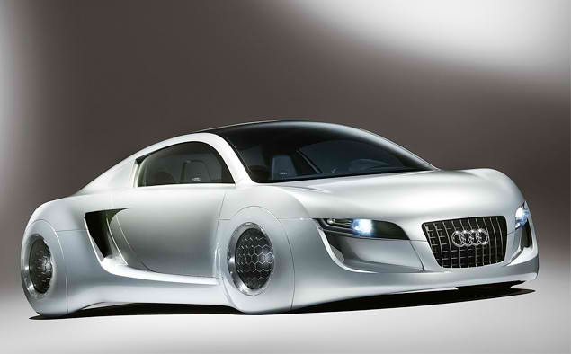 Таинственные колесные диски у Audi RSQ