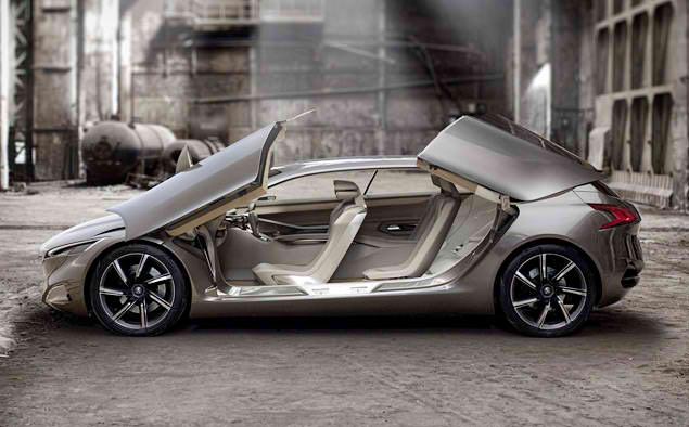 Аэродинамичный диски у концепт-кара Peugeot HX1