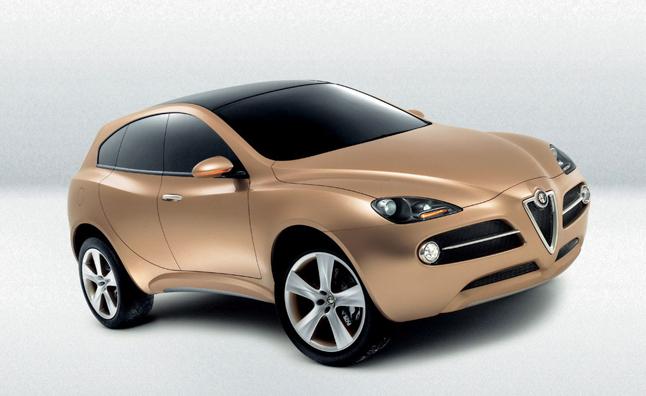 SUV Alfa Romeo будет произведен к 2015