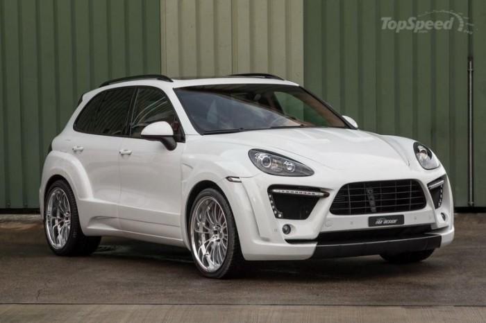 Новый образ для Porsche Cayenne