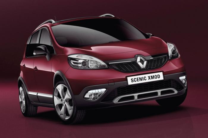 Renault представляет кроссовер XMOD