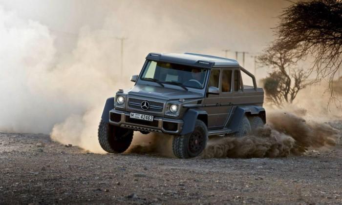 Красавчик 6x6 Mercedes-Benz G63 AMG