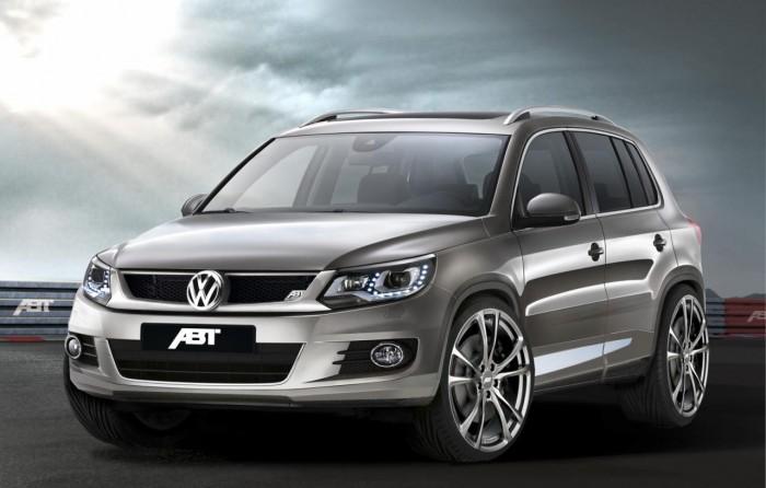 Volkswagen Tiguan получил тюнинг-пакет от известных тюнеров