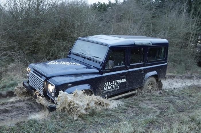 Электрический Land Rover Defender