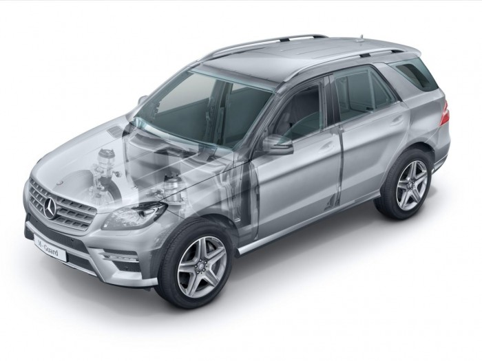 Mercedes-Benz   в броне
