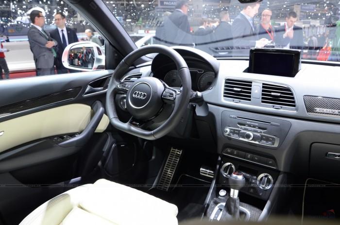 Обновленный кроссовер Audi RS Q3