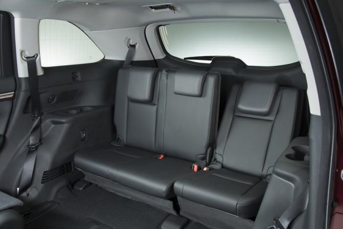 Задний диван Toyota Highlander