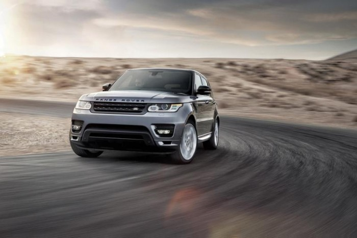 Экстерьер Range Rover Sport