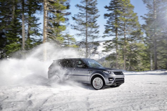 Range Rover Sport по снегу