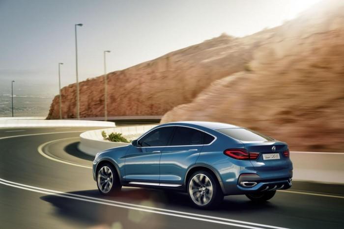 Фотографии концепта BMW X4