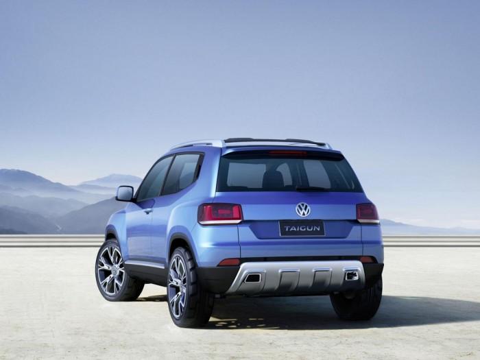 Экстерьер Volkswagen Taigun
