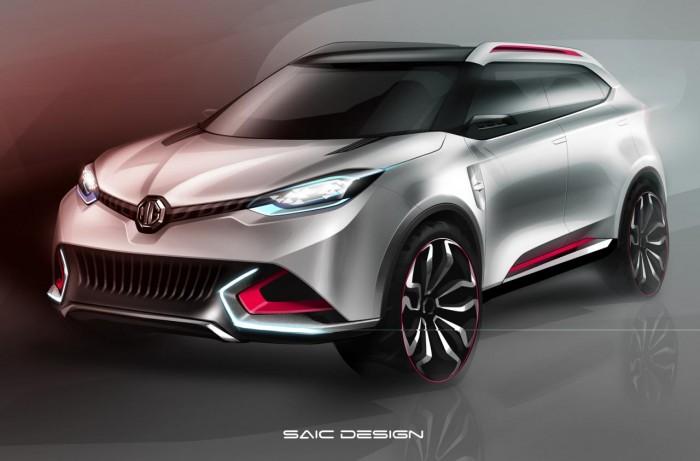 MG представит в Шанхае новый концепт