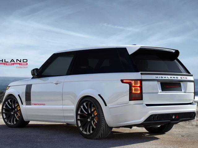Тюнеры переделали Range Rover  в купе