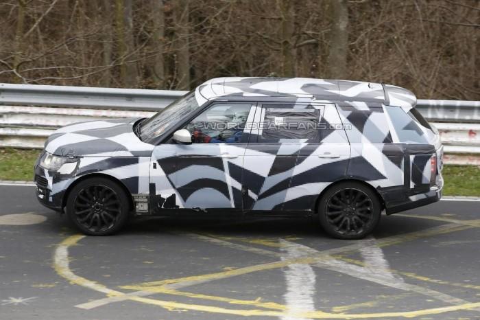 Шпионские фото Range Rover