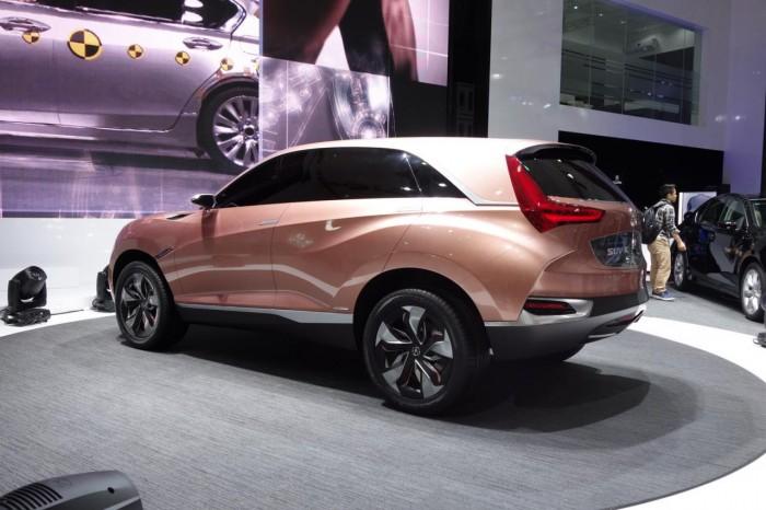 Концепт Acura SUV-X посетил Шанхай