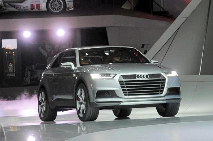 Концепт внедорожника Audi