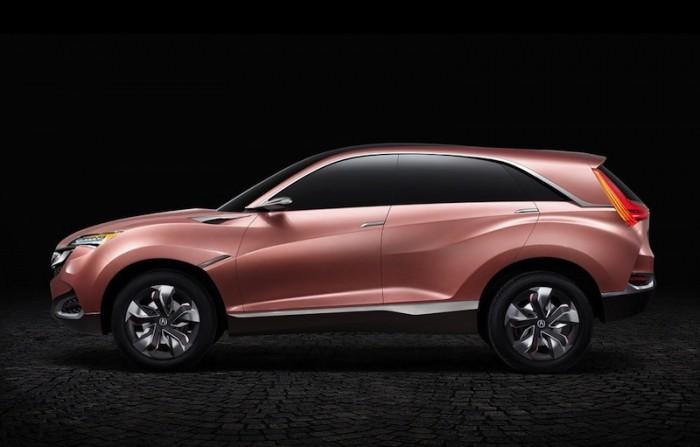 Acura SUV-X в профиль