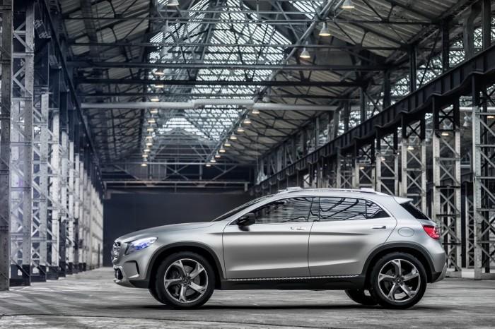 Фотографии нового Mercedes-Benz GLA