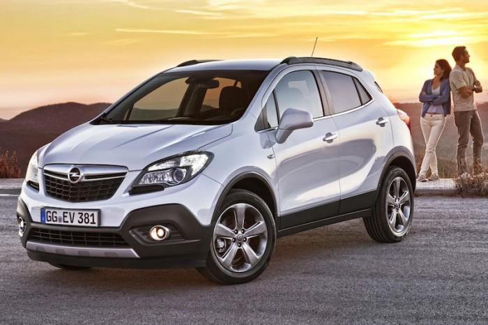 Экстерьер Opel Mokka