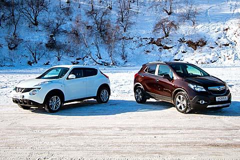 Opel Mokka и Nissan Juke
