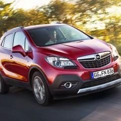 Opel Mokka на дороге