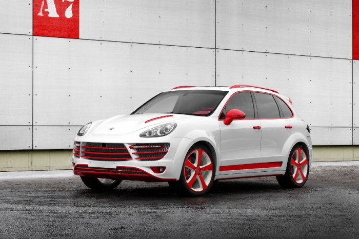 Экстерьер Porsche Cayenne Vantage 2 Red Dragon