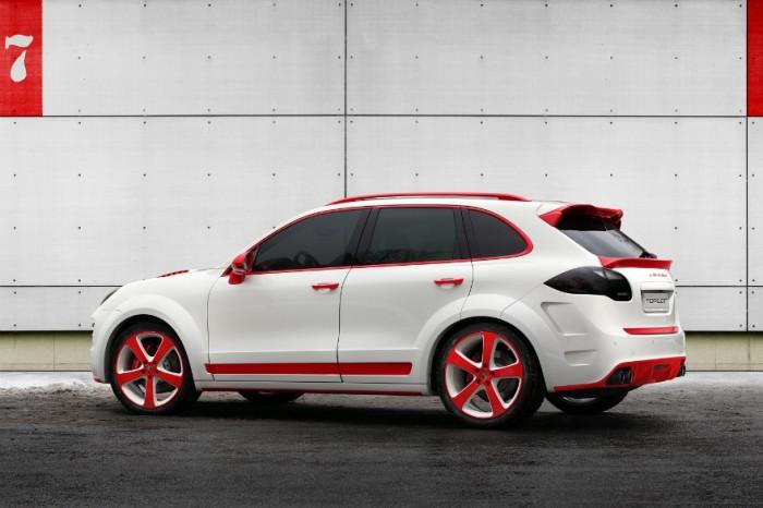 ????????? ? ??????? ??????? Porsche Cayenne Vantage 2 Red Dragon
