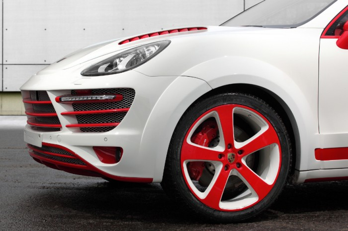 Морда Porsche Cayenne Vantage 2 Red Dragon