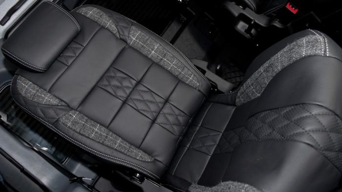 Армейский тюнинг внедорожника Land Rover Defender