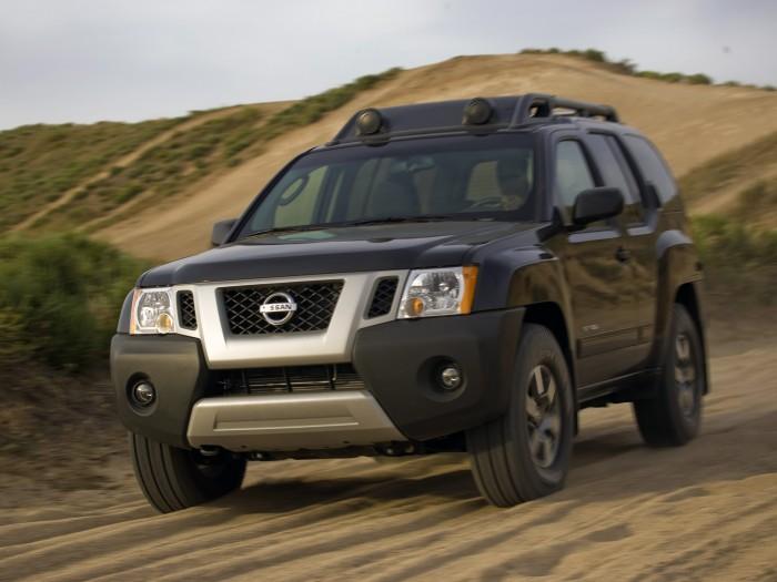 Nissan Xterra в пустыне