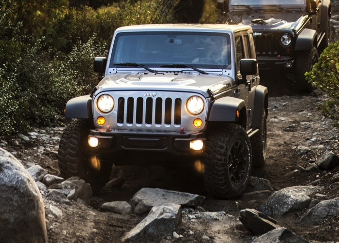 Jeep Wrangler в грязи