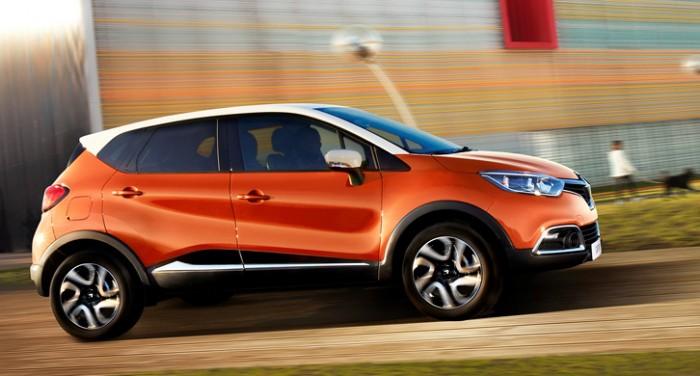 Внедорожник Renault Captur 2013