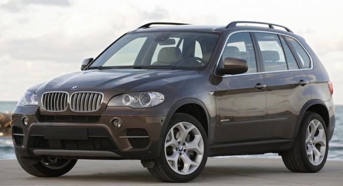 Внедорожник BMW X5 2013 года