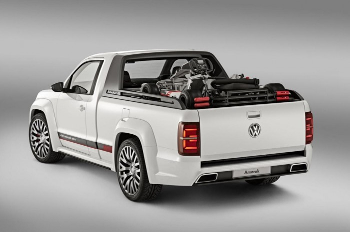 Экстерьер Volkswagen Amarok Power Pickup
