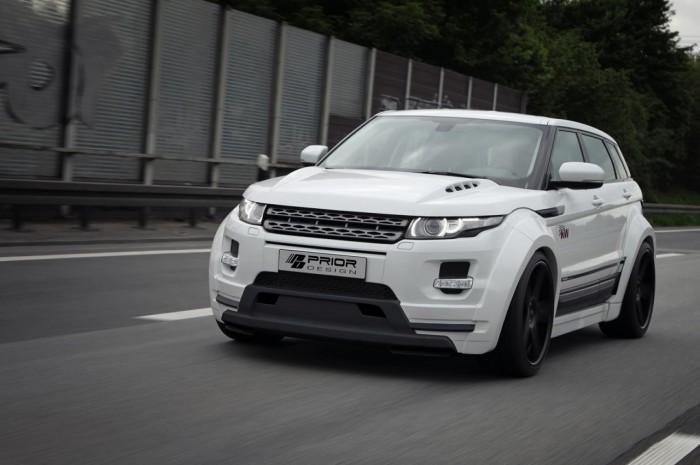 Range Rover Evoque от Prior Design