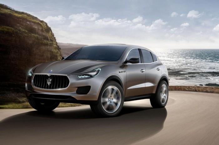 Концепт внедорожника Maserati Levante