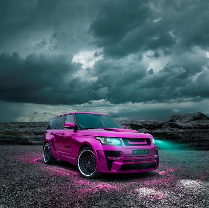 Range Rover для Барби