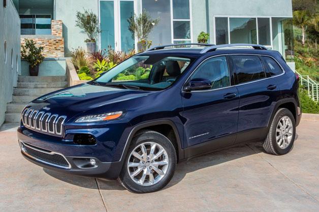 Внешний вид 2014 Jeep Cherokee