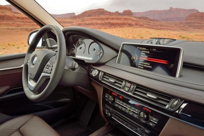 Интерьер 2014 BMW X5